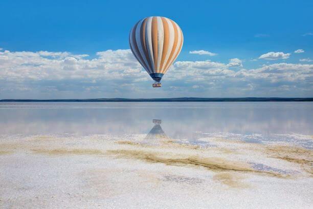 Ballonvaart en inspiratie in periode van corona