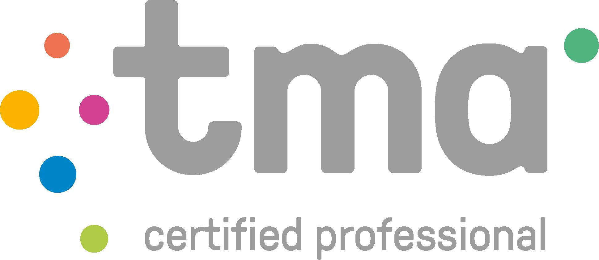 gecertificeerd TMA professional